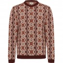 Pullover mit Jacquard Muster